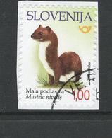 Slovenië, Yv  Jaar 2018, Hogere Waarde, Gestempeld, Op Papier, - Slovénie