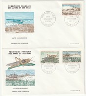 FDC - AFARS Et ISSAS - N°351/3  (1969) Lutte Antiacridienne - Briefe U. Dokumente