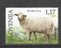 Slovenië, Yv  Jaar 2018, Hogere Waarde, Gestempeld, - Slovénie