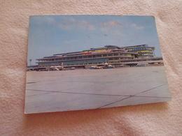 AEROPORT DE PARIS-ORLY ..LA FACADE SUD DE L'AEROGARE..FLAMME ORLY 1966 - Aérodromes
