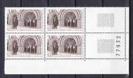 N° 2659 Série Touristique: Abbaye De Flaran: Bloc De 4  Timbres Neuf Impeccable - France