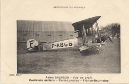 Aviation - Avion Salmson - 1919-1938: Entre Guerres
