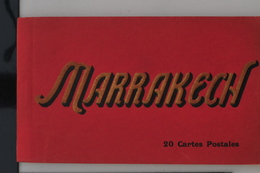 Marrakech 1910 - Livret Souvenir 20 Cartes Postales Animées TTB - Marrakech