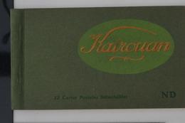 Kairouan 1910 - Livret Souvenir 12 Cartes Postales Animées TTB - Tunisie