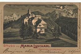 Gruss Aus Maria Luschari - Italy