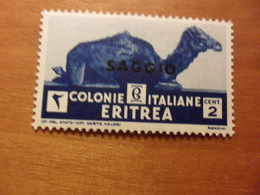 Italia COLONIE E POSSEDIMENTI   ERITREA Cent 2 Nuovo SAGGIO Soggetti Africani - Erythrée