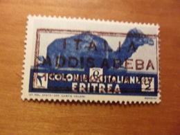 Italia COLONIE E POSSEDIMENTI   ERITREA Cent 2 Nuovo ADDISABEBA Soggetti Africani - Erythrée