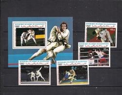 Olympische Spelen  1988 , Mauritanie . - Zegels + Blok  Postfris - Zomer 1988: Seoel