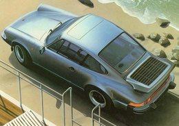 Porsche 911 Turbo  -  Mikio Okamoto    -  Carte Postale - Turismo
