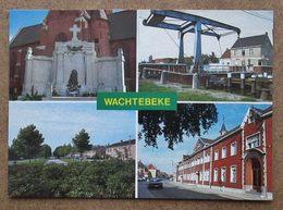 (K157) - Wachtebeke - Monument Der Gesneuvelden - Woonwijk Warande - Brug Overlede Moervaat - Lyceum... - Wachtebeke
