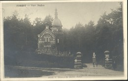 FOREST / VORST : Parc DUDEN CARTE PHOTO VERITABLE - Forest - Vorst