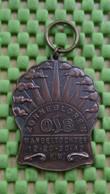 Medaille / Medal - Medaille - Zonnegloren Wandeltochten ,  Osb Utrecht - The Netherlands - Niederlande