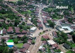 Sierra Leone Makeni Aerial View New Postcard - Sierra Leone