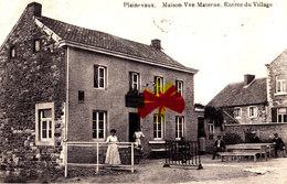 PLAINEVAUX - Maison Vve Materne. Entrée Du Village - Neupre