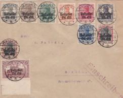 Deutsches Reich Oberbefehlshaber Ost Brief 1918 - Occupation 1914-18