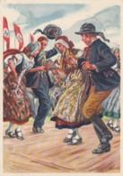 Deutsches Reich Propaganda Postkarte 1938 - Gebraucht