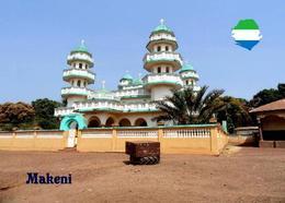 Sierra Leone Makeni Mosque New Postcard - Sierra Leone
