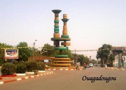 Burkina Faso Ouagadougou Filmmakers Monument New Postcard - Burkina Faso