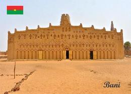 Burkina Faso Bani Mosque New Postcard - Burkina Faso