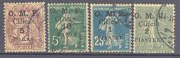 Cilicie: Yvert  N° 89/93°; 4 Valeurs - Oblitérés