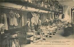 AUBUSSON PARIS TAPIS TAPISSERIES L. HAMOT 75 RUE DE RICHELIEU MANUFACTURE LAINES ET SOIE SOIERIE USINE INDUSTRIE METIER - Aubusson
