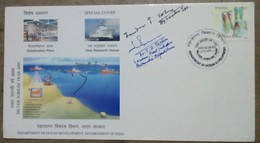 Antarctica, Penguine,Whale,ship, Autograph, Ocean,india, Save Polar And Glaciers,Antarctic Expedition - Antarktis-Expeditionen