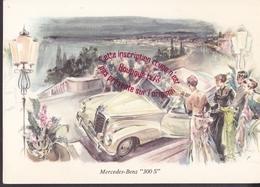 Q0882 - MERCEDES BENZ 300S - Illustration - Cartes Postales