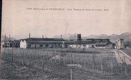 Les Usines De Pont De Claix (Cachet 2e COMPAGNIE D'OUVRIERS CHIMISTES Le Vaguemestre) - Autres Communes