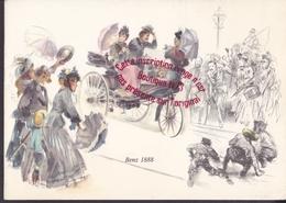Q0883 - ( MERCEDES ) BENZ 1888 - Illustration - Souvenir De Stuttgart - Cartes Postales