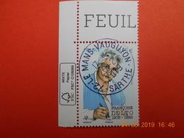 FRANCE 2018 YT N°   Françoise DOLTO 1908-1988  Beau Cachet  Rond Sur Timbre Neuf  Coin De Feuille - Frankreich