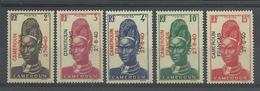 CAMEROUN 1940 - YT 208/213** (il Manque Le 211) - Neufs