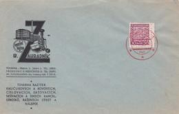 B.ZAHRADNIK MODERNI RAZITKA. ENVELOPE CIRCULEE CHECOSLOVAQUIA 1934 STAMP AVEC BORD DU PLAQUE -BLEUP - Briefe U. Dokumente
