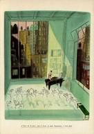 Sempé - LU Petit-Beurre Nantais - L'heure De La Pause Dans Le Studio De Lulu Nanteskaia, à New-York - Sempé