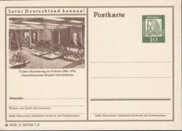 BRD P 65.1/1, 115231 1/1 7.61, Bildpostkarte: 75 Jahre Motorisierung, Automobilmuseum Stuttgart-Untertürkheim, Ungebr. - Postales Ilustrados - Nuevos