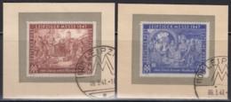 AllB, GemAusg, 941-942, Gestempelt Auf Briefstück, Leipziger Messe 1947 - American,British And Russian Zone