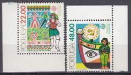 PORTUGAL 1531-1532, Postfrisch **, Europa CEPT: Folklore 1981 - Europa-CEPT