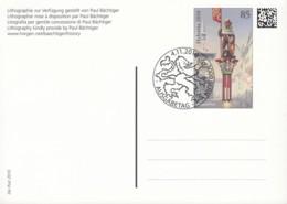 SCHWEIZ  P 340, Gestempelt, Tag Der Briefmarke, 2010 - Ganzsachen