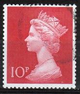 Great Britain 1970 Large Pre Decimal Single 10p Value Stamp. - 1952-.... (Elizabeth II)