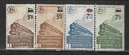 Fg167  France Colis Postaux N°226A(2 Nuances)-227A-228A Nx - Spoorwegzegels