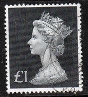 Great Britain 1970 Large Pre Decimal Single £1 Value Stamp. - 1952-.... (Elizabeth II)