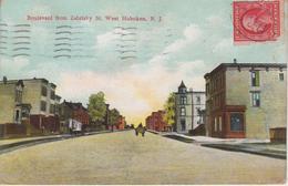 CPA West Hoboken - Boulevard From Zabrisky St. - Etats-Unis