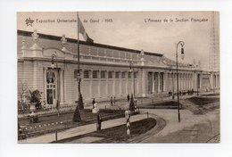Belgique: Flandre Orientale, Gand, Gent, Exposition Universelle 1913, L'Annexe De La Section Française (19-367) - Gent