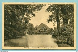 Havay     Chateau De Beauvoir ( étang - Ferme ) Non Voyagé - Quevy