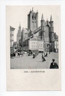 Belgique: Flandre Orientale, Gand, Gent, Eglise Saint Nicolas (19-371) - Gent