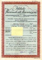 B 2463 - Polizza I.N.A. - Banca & Assicurazione