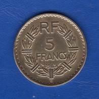 5  Fr  1945 C  Bronze - France