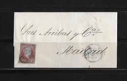 1855 SPANIEN → Brief Cadiz Nach Madrid   ►RAR◄ - Lettres & Documents