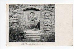 Belgique: Flandre Orientale, Gand, Gent, Ruines De Saint Bavon, Une Porte (19-372) - Gent