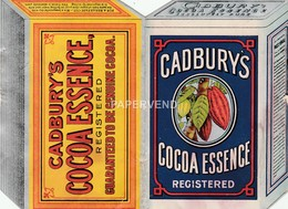 Advert  CADBURY'S Cocoa Essence E99 - Advertising