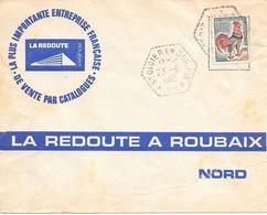 Agence Postale Saint Didier En Donjon Allier - Marcophilie (Lettres)